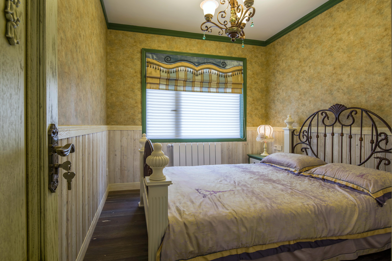 田园公寓装修卧室效果图