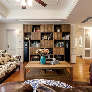 三居室美式公寓装修 复古休闲