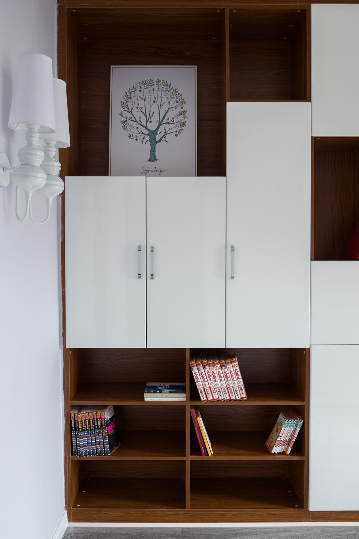 110平北欧风格家书柜图片