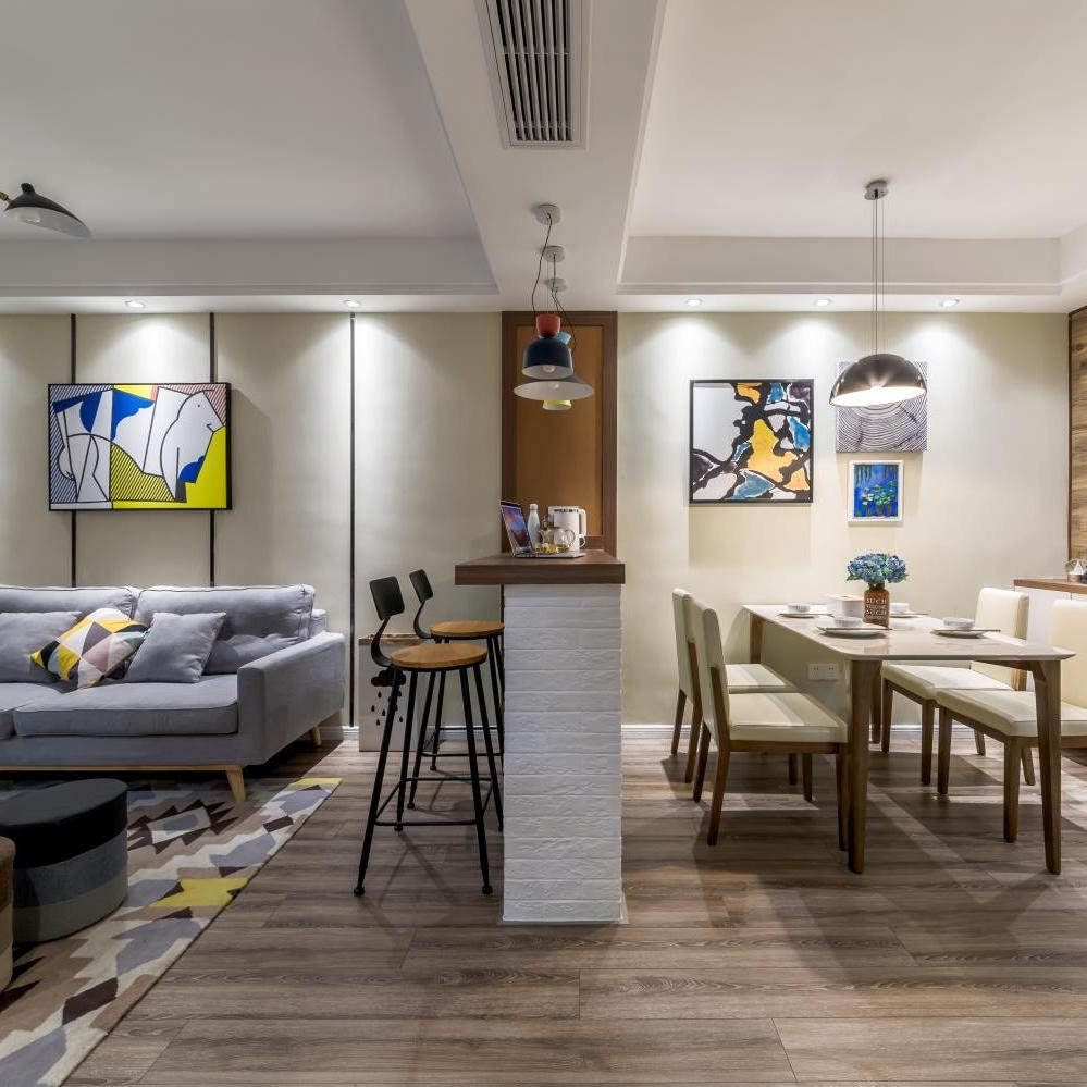 北欧二居装修设计 个性空间