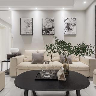 三居室现代简约之家 精简舒适