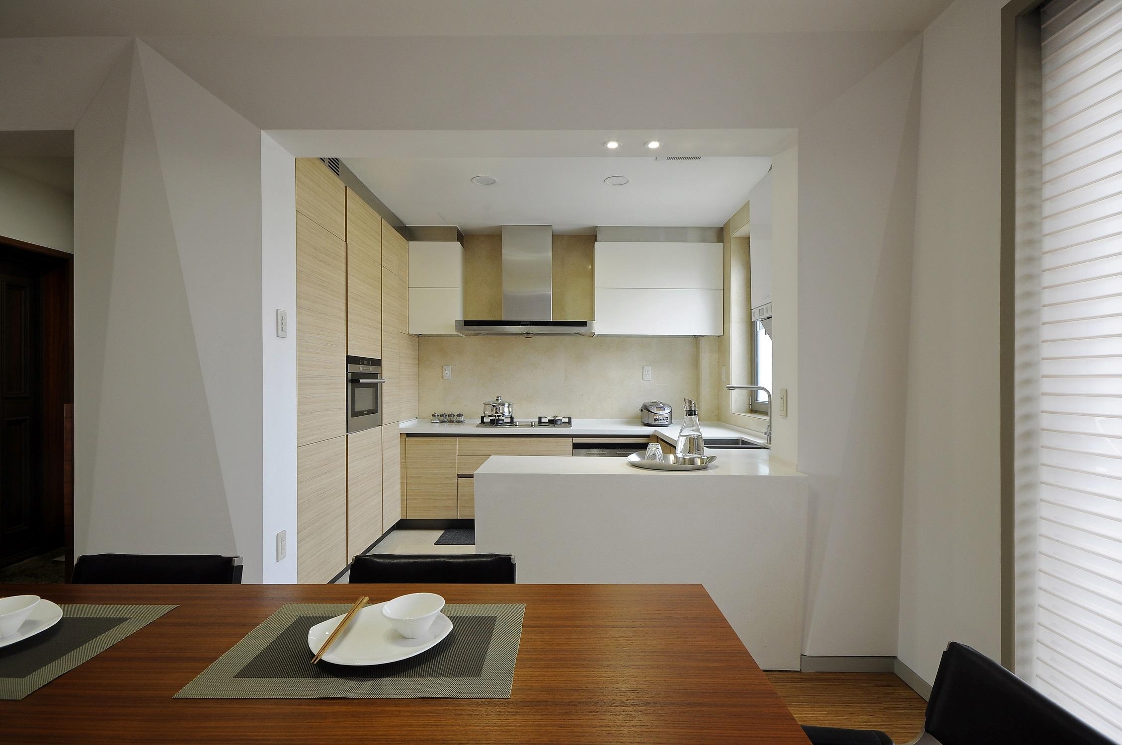 现代简约复式装修厨房设计图