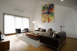 現代簡約復式裝修窗簾設計