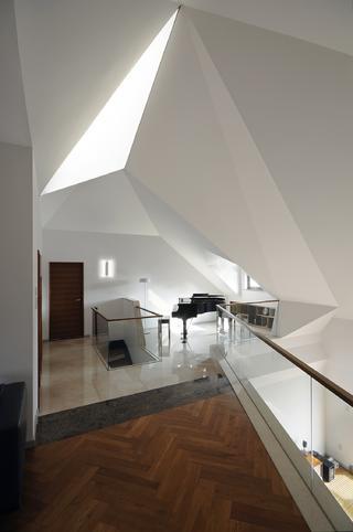 现代简约复式装修阁楼设计