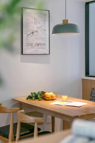 98平北欧风格家餐厅布置图