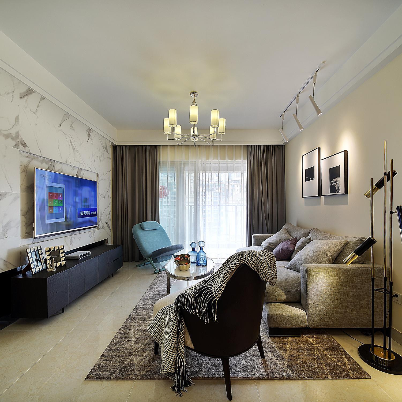 三居室现代风格装修效果图