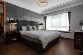 轻奢复式装修卧室效果图