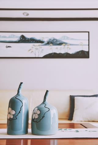 130平新中式设计花瓶图片