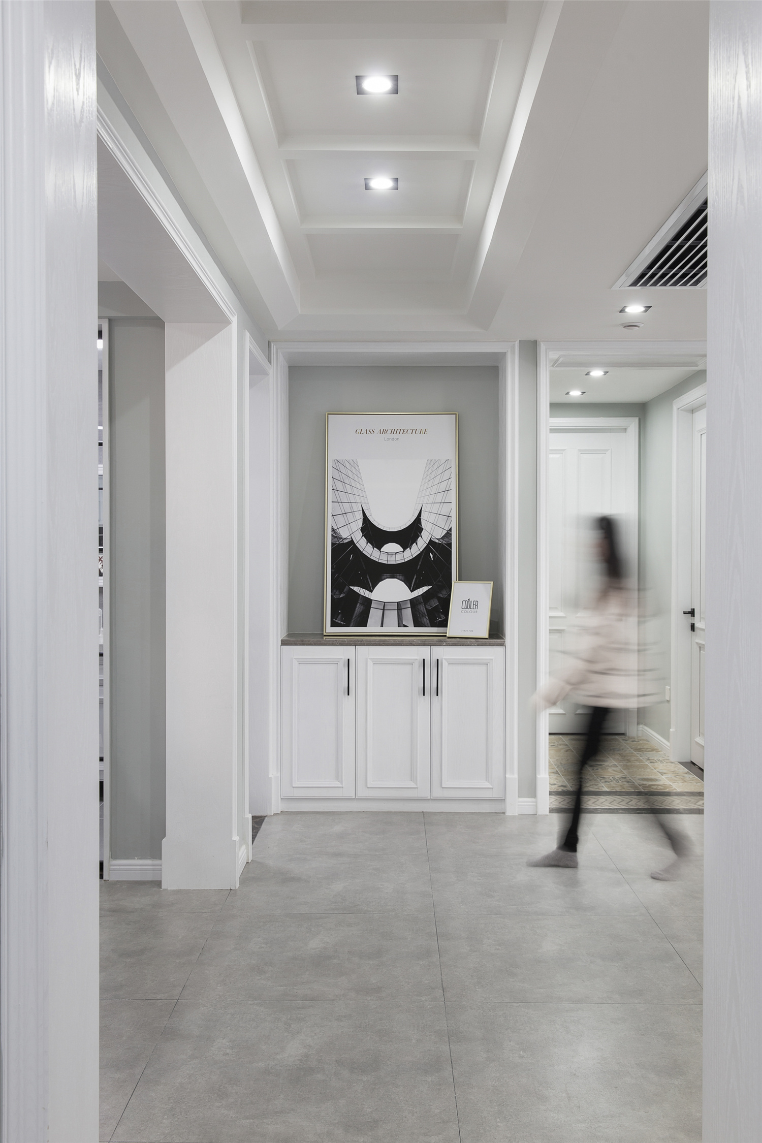 大户型北欧风装修门厅设计