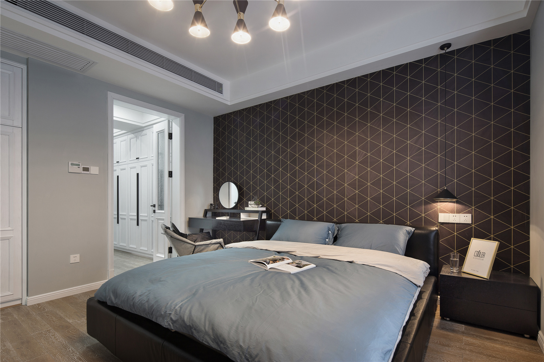 大户型北欧风装修卧室效果图