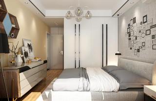 110平现代风格家衣柜图片