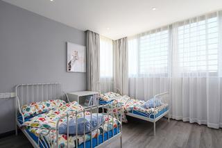 现代简约复式装修儿童房设计图