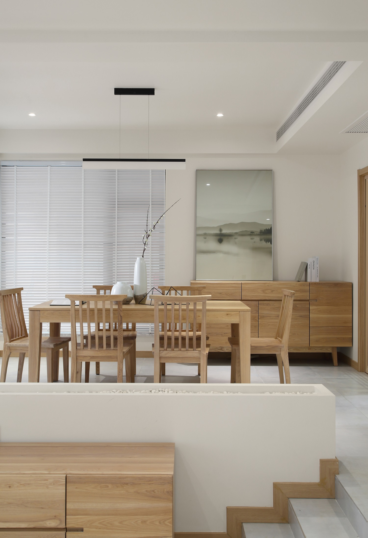 复式别墅装修餐厅设计图