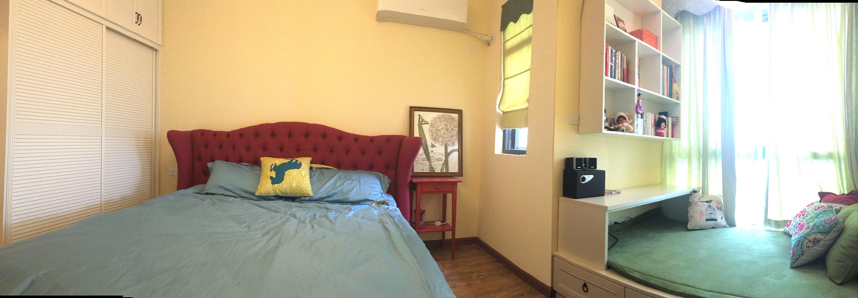 美式二居室装修卧室设计图