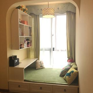美式二居室装修榻榻米图片