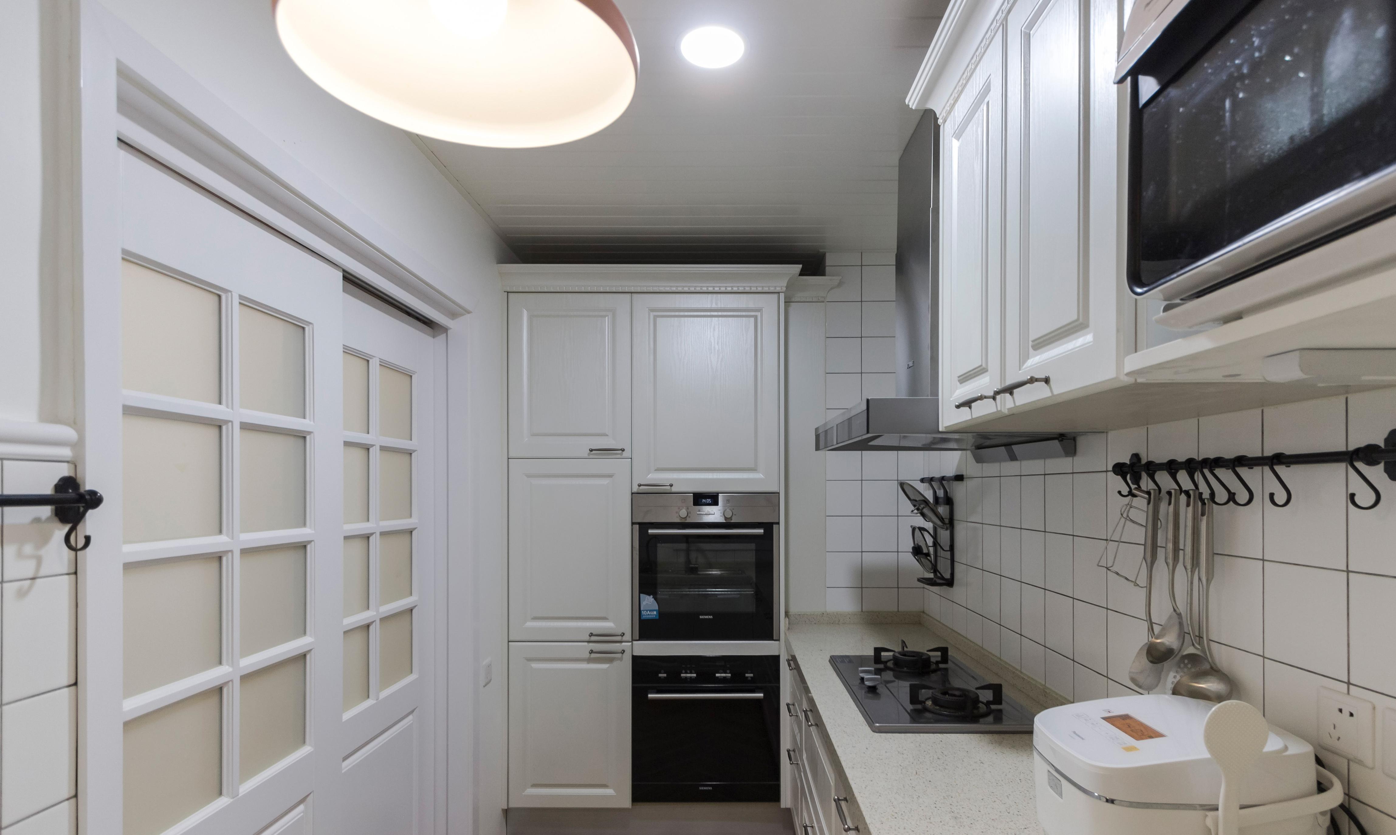 150㎡混搭装修厨房设计图