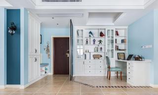 三居室简约美式工作区设计
