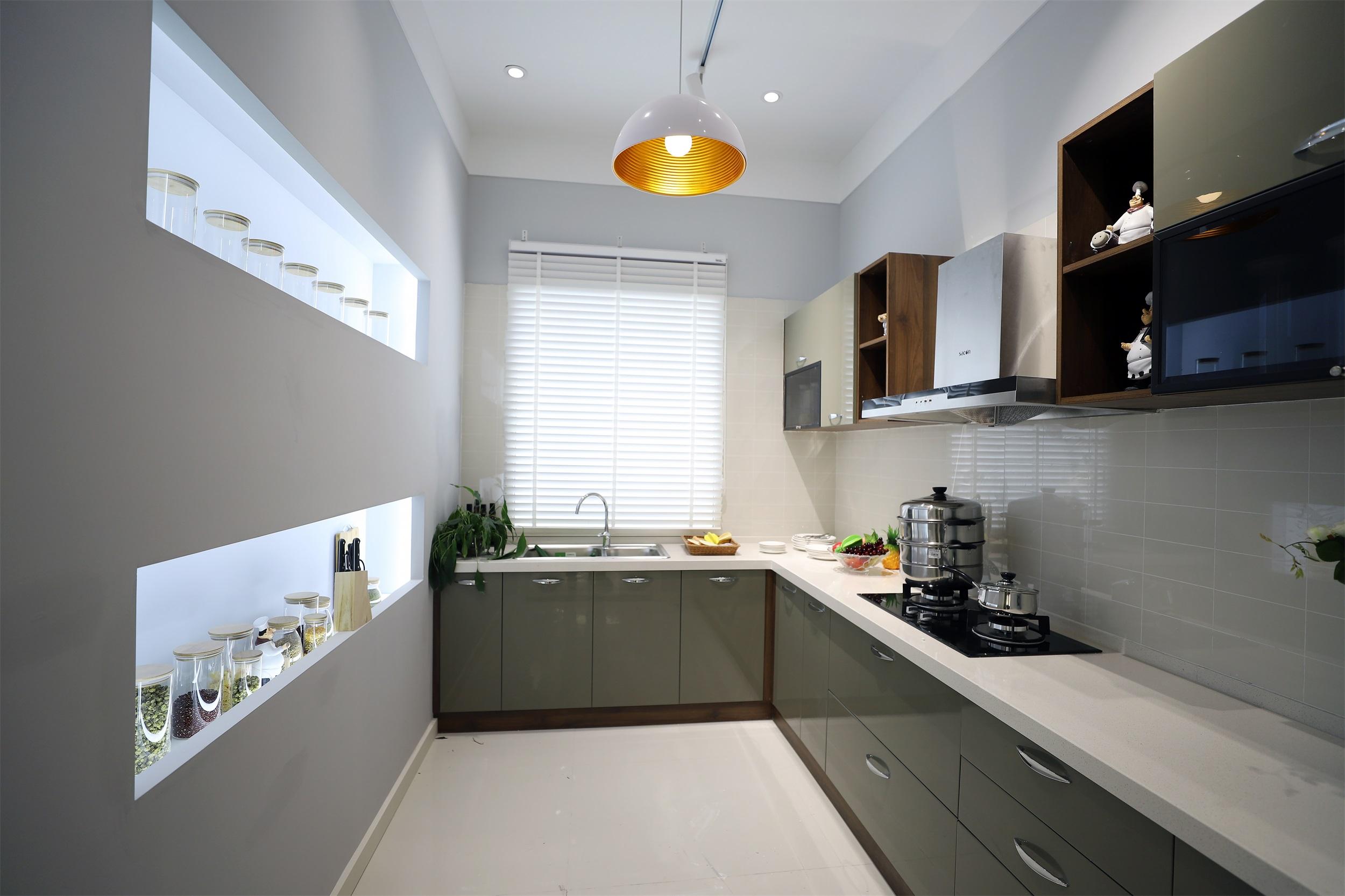 家居展厅装修厨房装潢图