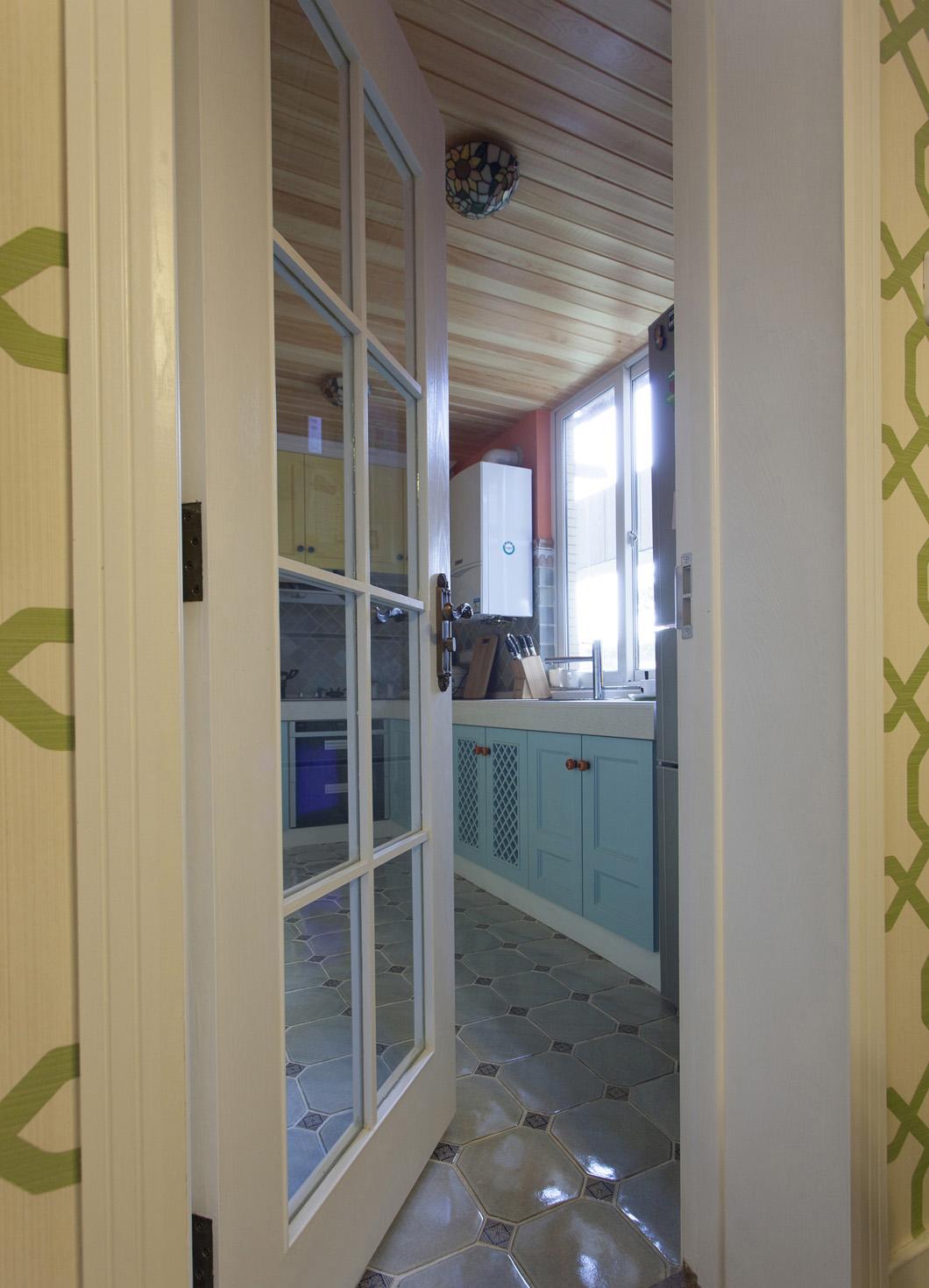美式四居室装修厨房欣赏图