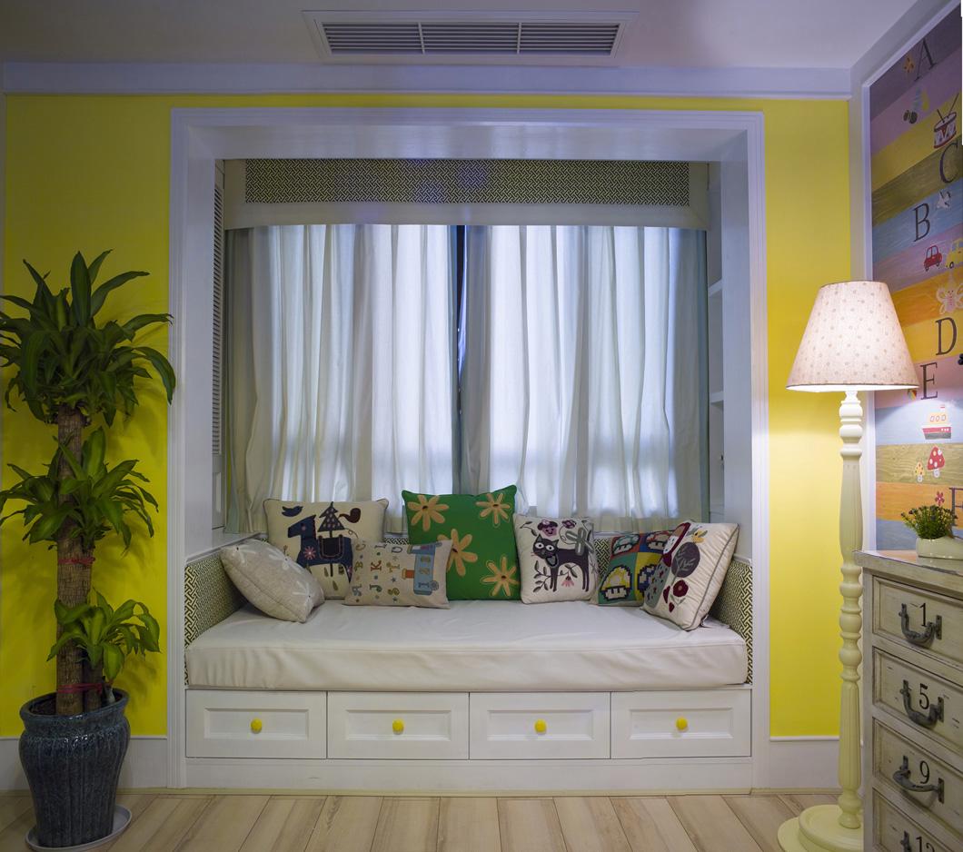 美式四居室装修榻榻米图片