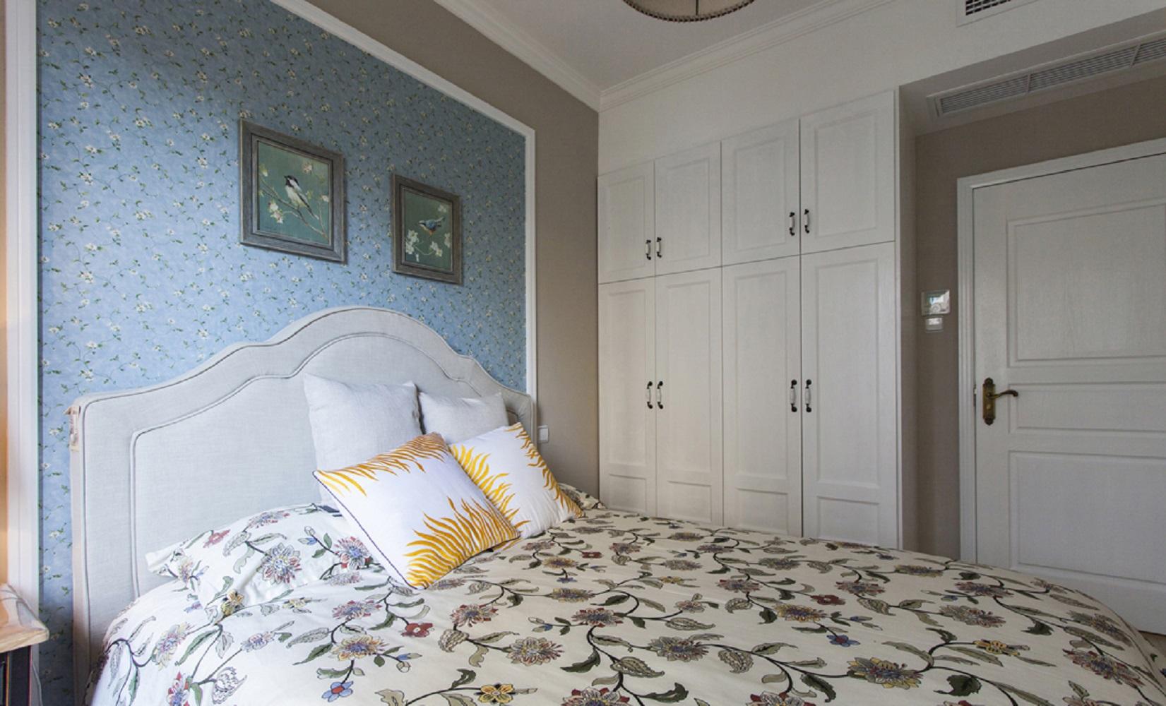 美式四居室装修次卧效果图