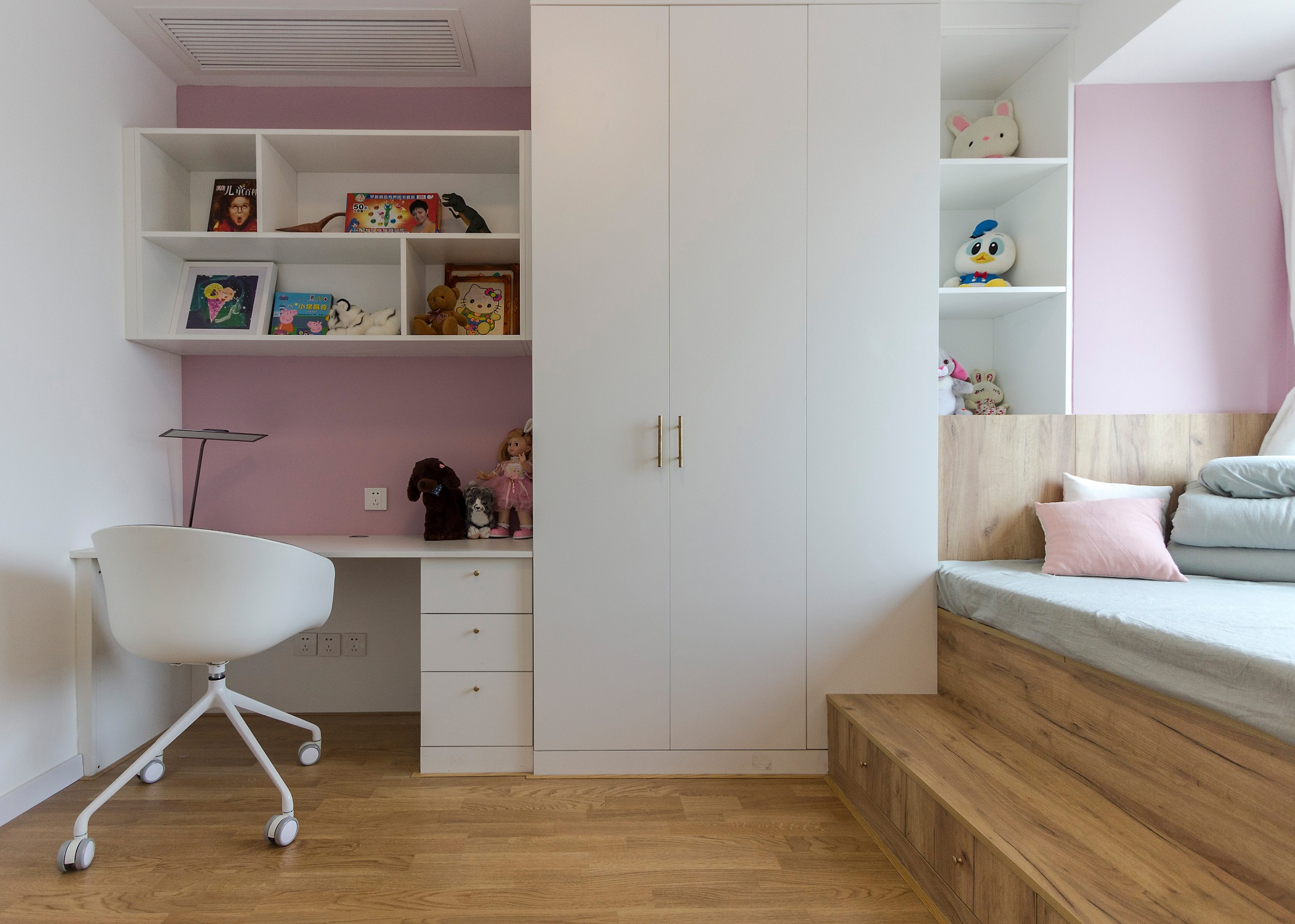 140平北欧风格家衣柜图片