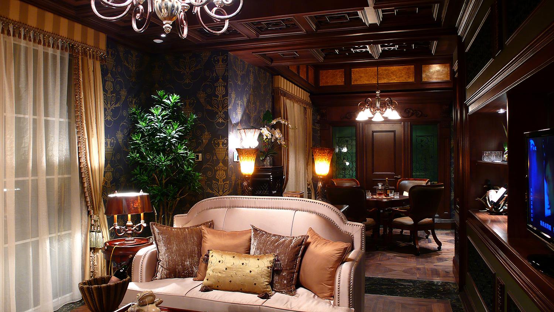 欧式别墅装修沙发图片