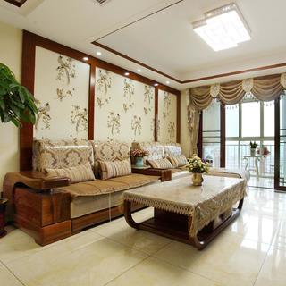 中式二居室装修设计 优雅大方