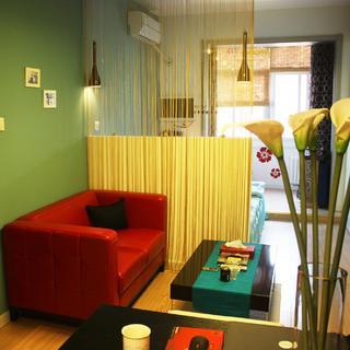 30平单身公寓装修 迷人空间