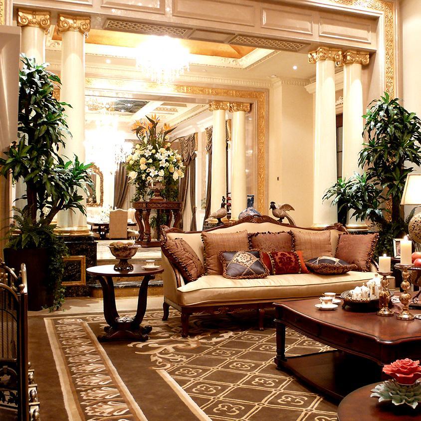 欧式别墅装修效果图 高贵华丽