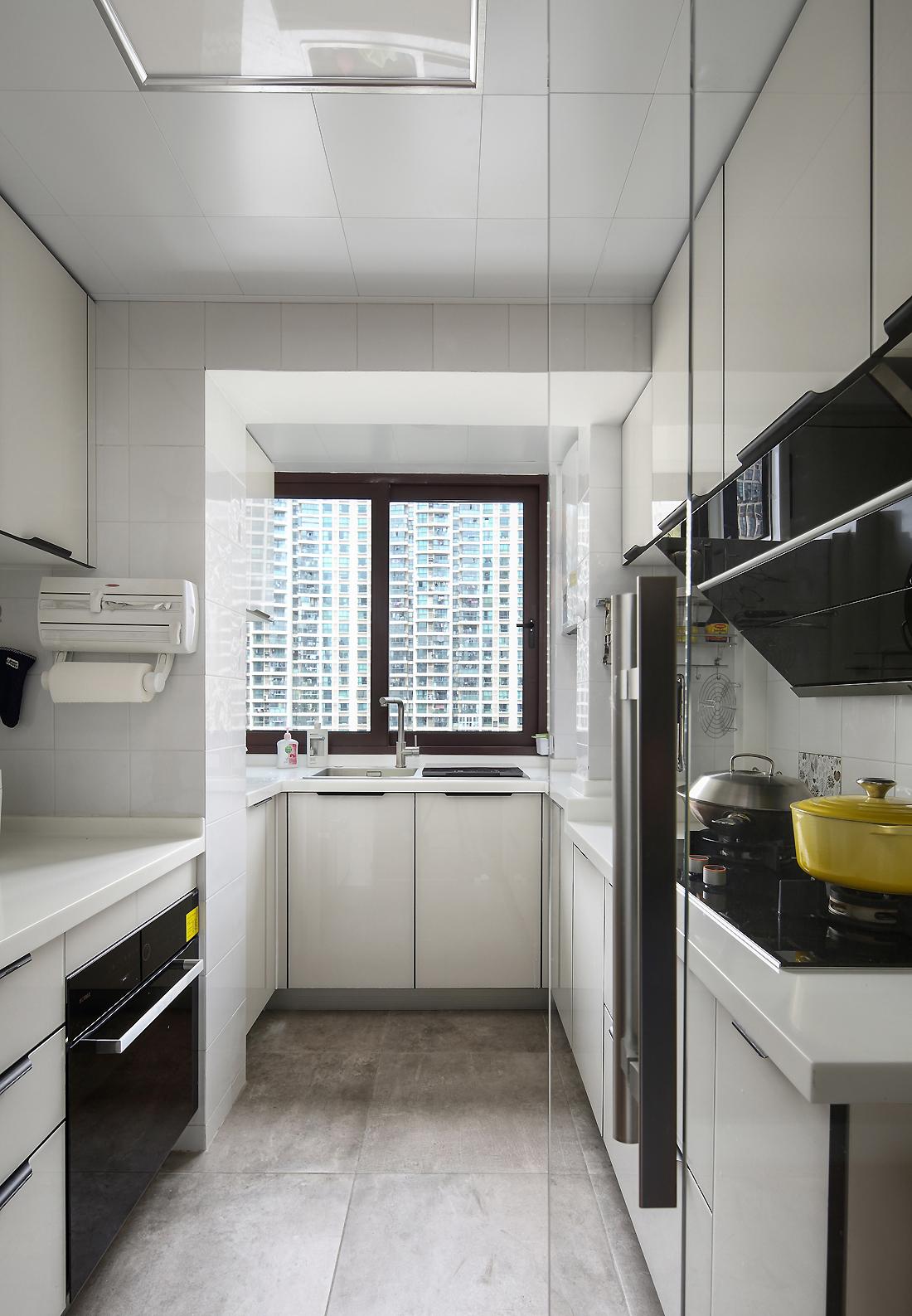现代北欧风之家厨房设计图