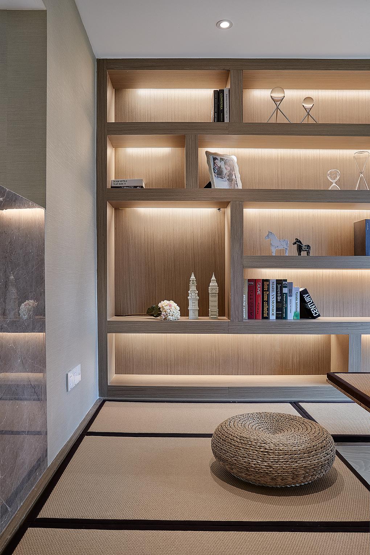 130㎡简约风格设计书房欣赏图