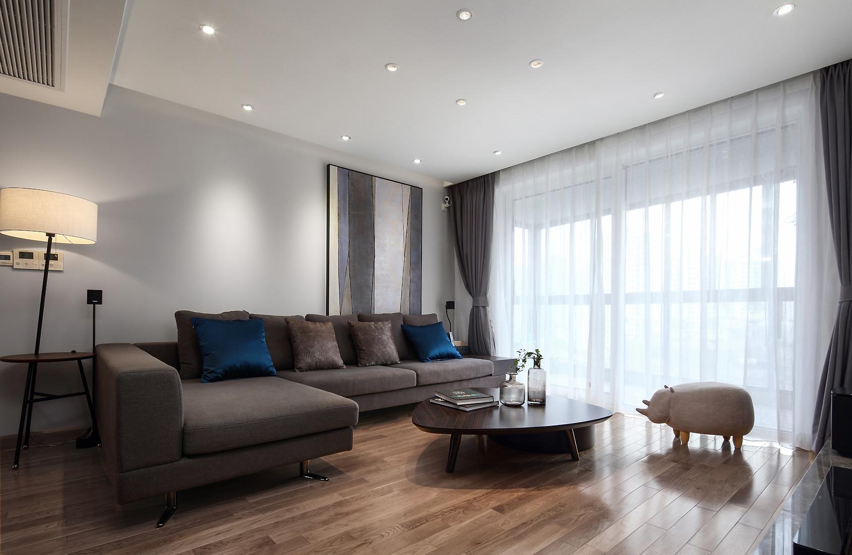 现代北欧风之家沙发图片