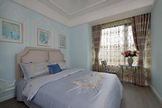 三居室美式设计卧室欣赏图