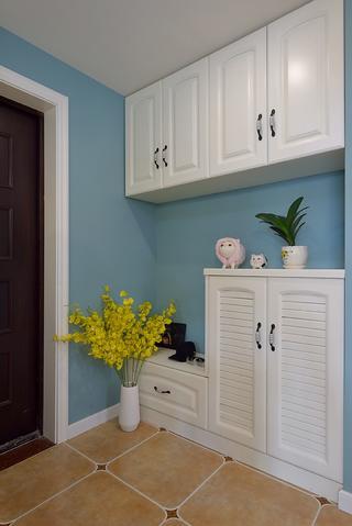 三居室美式设计门厅柜图片