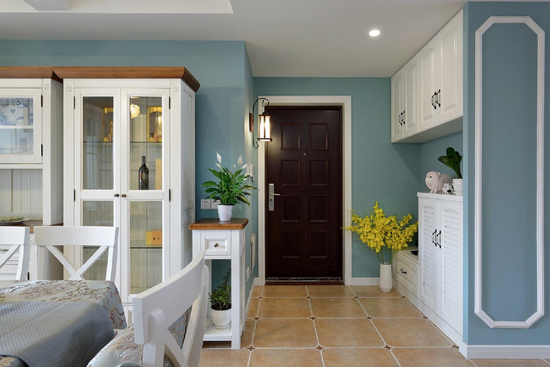 三居室美式设计门厅