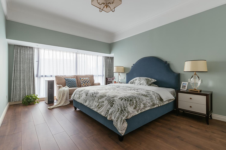 160㎡现代美式装修卧室效果图