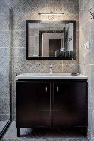 80㎡loft风格装修浴室柜图片