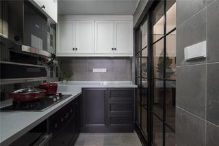 80㎡loft风格装修厨房设计图