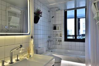 120㎡北欧风格家卫生间装潢图