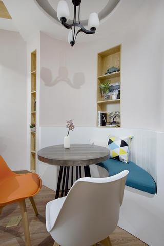 一居室北欧小家餐厅背景墙图片