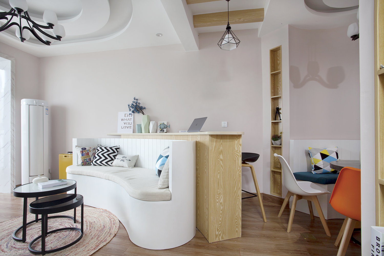 一居室北欧小家吧台设计