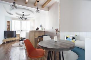 一居室北欧小家客餐厅效果图