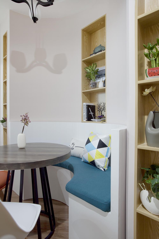 一居室北欧小家卡座设计