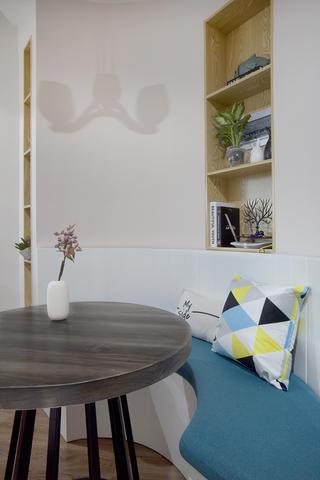 一居室北欧小家墙壁凹龛设计