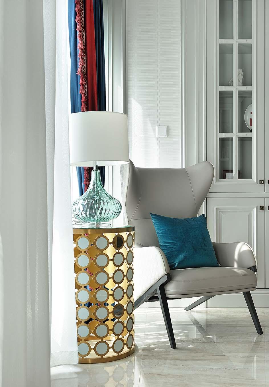 四居室现代美式装修椅子图片