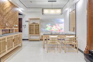 中式三居室餐厅设计图