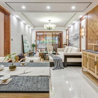 中式三居室设计 儒雅庄重