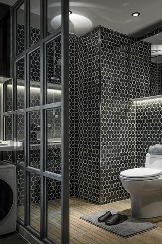 二居室公寓裝修衛生間設計圖