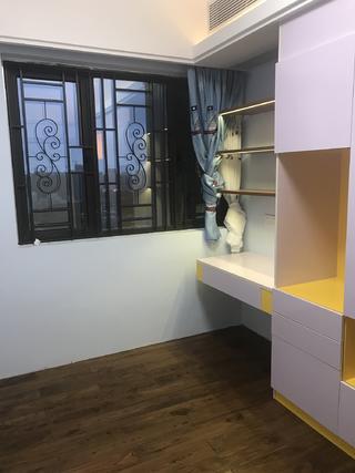 110㎡现代简约装修儿童房实景图